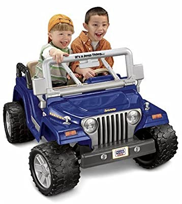 Power Wheels Jeep Wrangler Rubicon from Fisher-Price