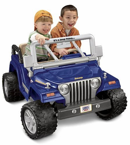 amazoncom power wheels jeep wrangler rubicon toys games