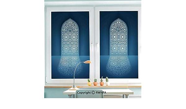 RWNFA - Mural de cristal para puerta, diseño de mandala asiática ...