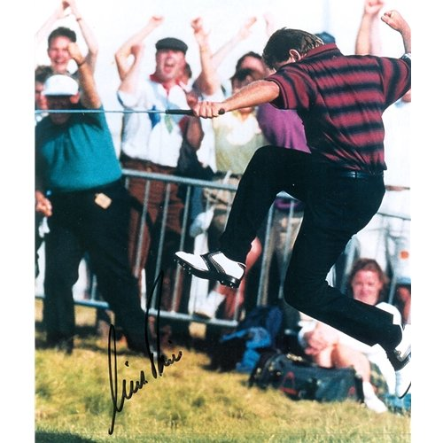 Nick Price Autographed (British Open Celebration) 8x10 ()