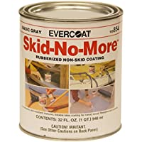 Evercoat 100854 Skid-No-More Rubberized Non-Skid Coating, 1 quart by Evercoat