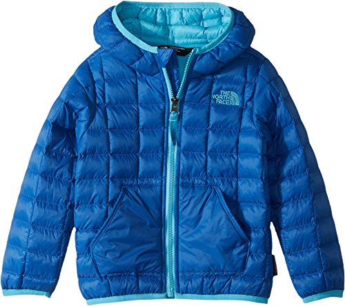 The North Face Kids Baby Boy's Thermoball Hoodie (Toddler) Turkish Sea/Turquoise Blue 4T