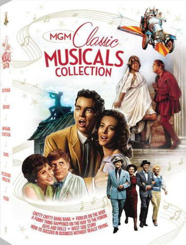 MGM Classic Musicals (West Side Story/Guys and Dolls/Fiddler on the Roof/A Funny Thing Happened on the Way to the Forum/How to Succeed in Business Without Really Trying/Chitty Chitty Bang Bang) by Sony