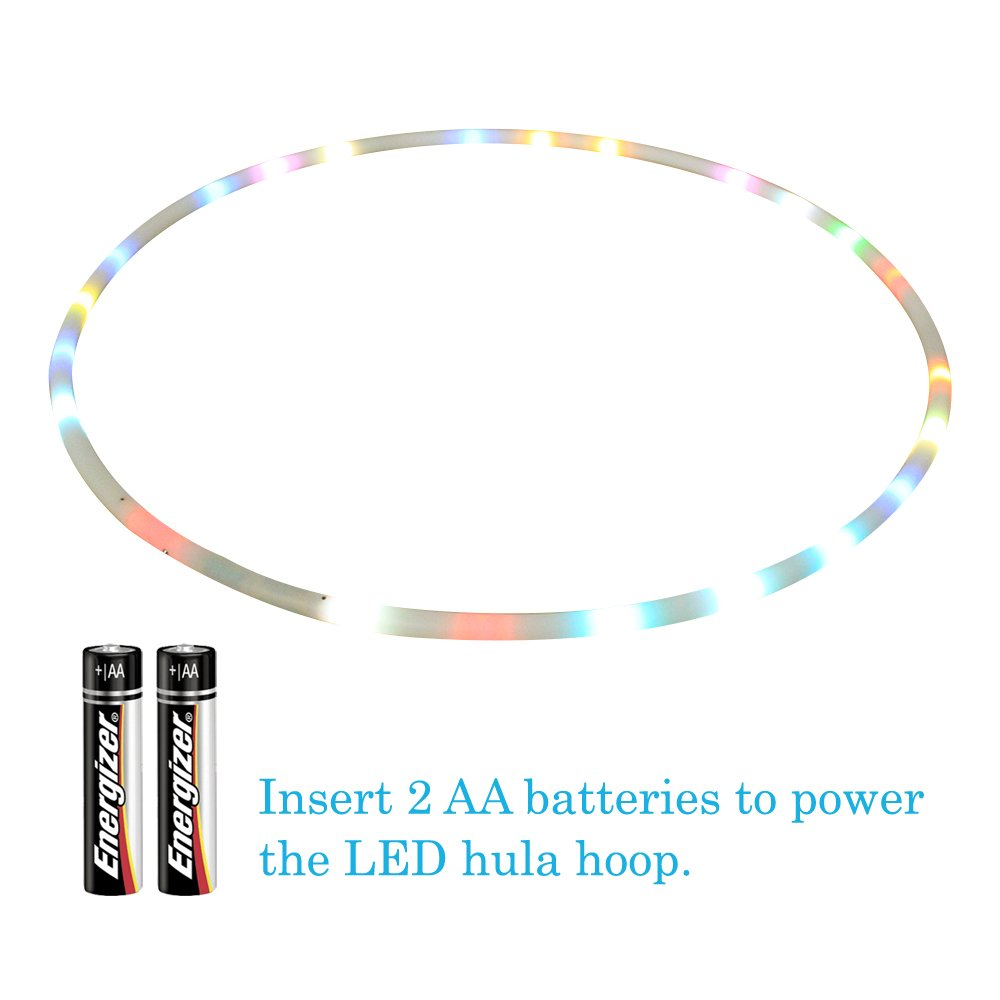 Willway 32 Inch Light Up Hula Hoop 18 Color Changing Led On Pinterest And Hoops For Kids Adults Multiple Size Available Toys Games