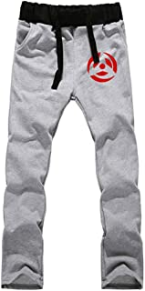 Cosstars Anime Naruto Sweatpants Trousers Cosplay Costume Sport Jogging Long Pants with Pockets