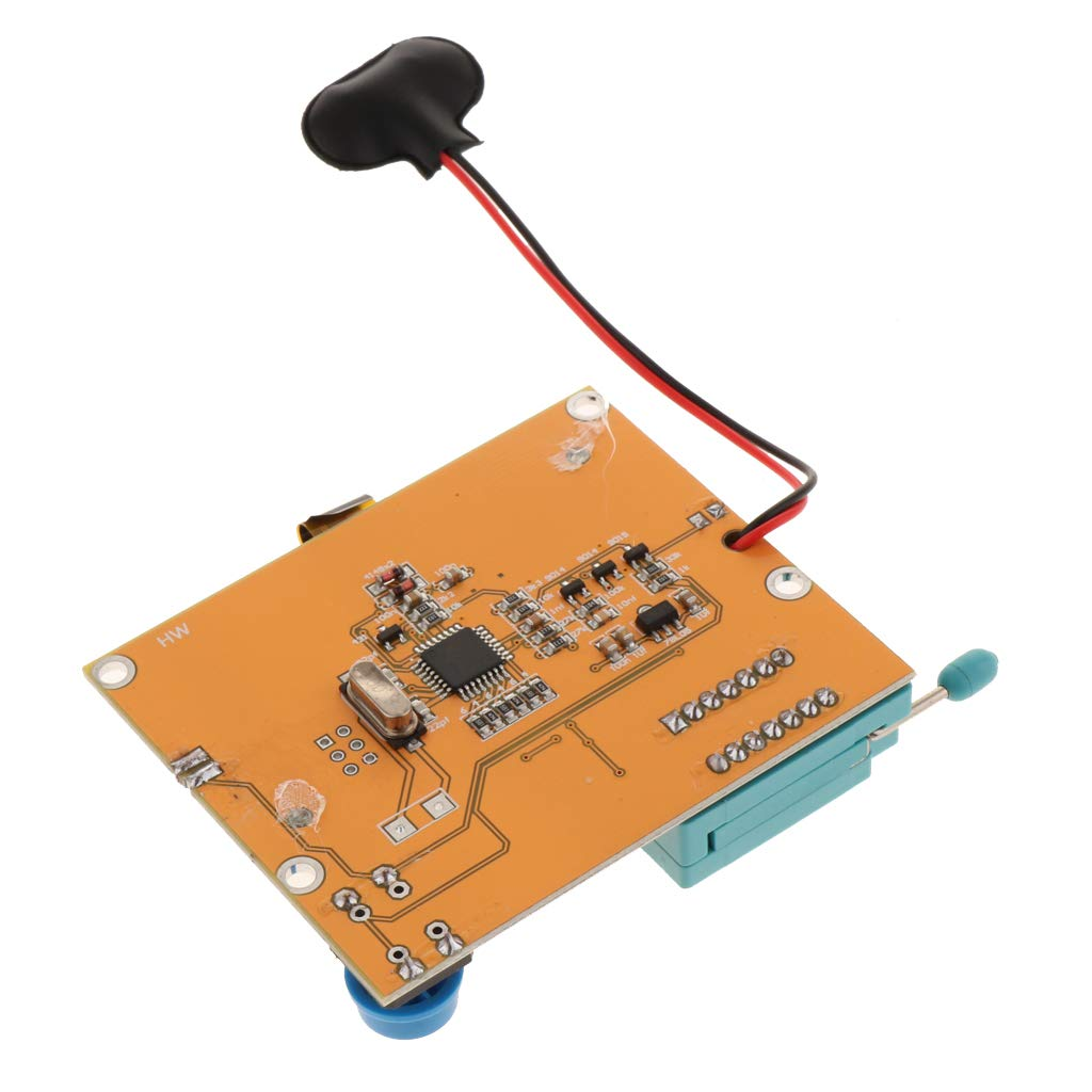 Multi-function T4 Transistor Tester Diode Triodes Capacitance ESR Meter