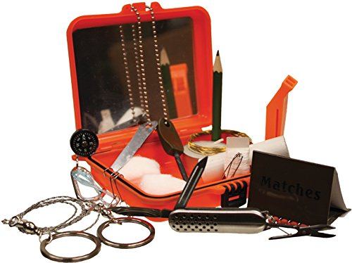 Red Rock Outdoor Gear RED06016-BRK Survival Kit by Red Rock Outdoor Gear