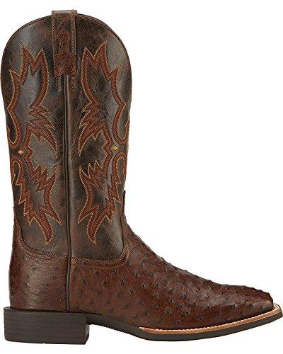 Ariat Mens Quantum Klassiska Western Cowboy Boot Antik Tabac Fq Struts