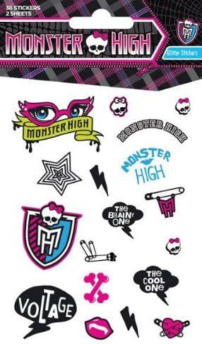 Pack de Pegatinas Monster High: Amazon.es: Electrónica