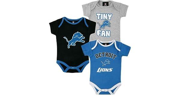 Amazon.com : Detroit Lions 3pc Creeper