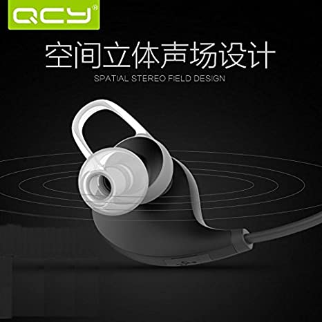 Nuevo original PANMARI QCY QY8 inalámbrico Bluetooth 4.1 auriculares estéreo in-Ear auriculares Studio Music rátidas Fashion deporte auricular con micrófono ...