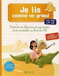 Histoires de pharaons, de pyramides et de crocodiles au bord du Nil par Charlotte Grossetête