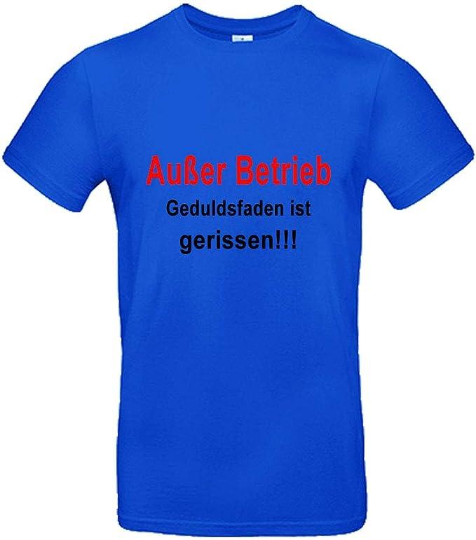T-Shirt Au/ßer Betrieb Herren--Damen-