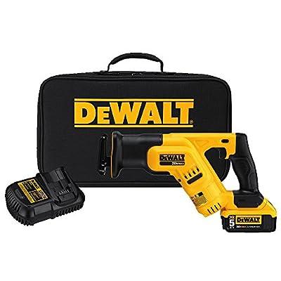 DEWALT DCS387P1 20-volt MAX Lithium Ion Compact Reciprocating Saw Kit by Dewalt