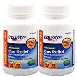 Best Gas Relief Pills - Equate Extra Strength Gas Relief 125 mg 72 Review