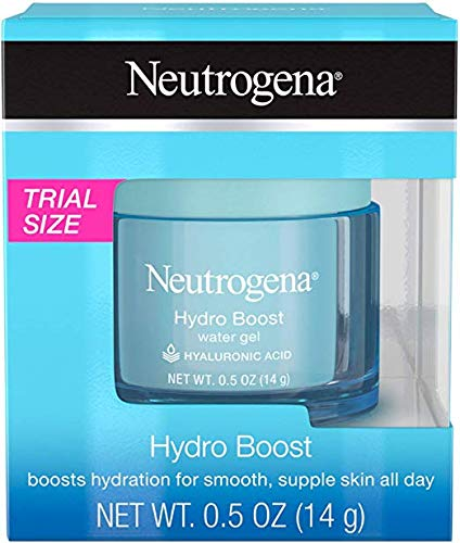 Hydro Boost Hydrating Water Face Gel Moisturizer, Travel Size, 0.5 oz (Pack of 2)