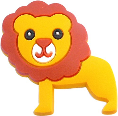 Lion Rubber Charm for Wristbands and Shoes
