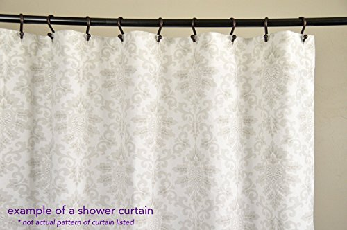 Amazon.com: Fabric Shower Curtain - GIGI ASH - 72\