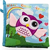 Vaitoys Best Baby Books Touch and Feel peek a Boo Cloth Books Early Learning Educational for Babies Toddler Toys for 6 to 12 Months and o 1 2 3 4 5 Year Old Boys Girls Soft Crinkle Books for Infants