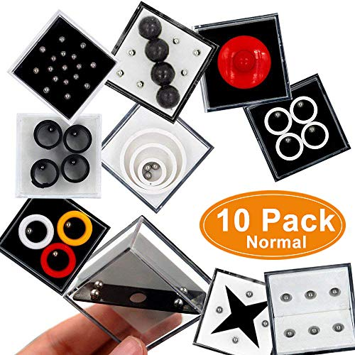 Fidget Puzzle Boxes Mini Brain Teaser for Kids Adults and Special People Educational Decompression Game Boxes Balance Puzzle Box Children Gift Party Favors Games Hand Toys for Intelligence Development by COWEAL