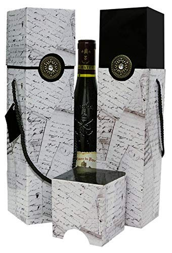 Wine Gift Box Set Of 2 Reusable Caddy Easy To Assemble No Glue Required Sauternes Petrus Collection Ez Wine Gift Box By Endless Art Us