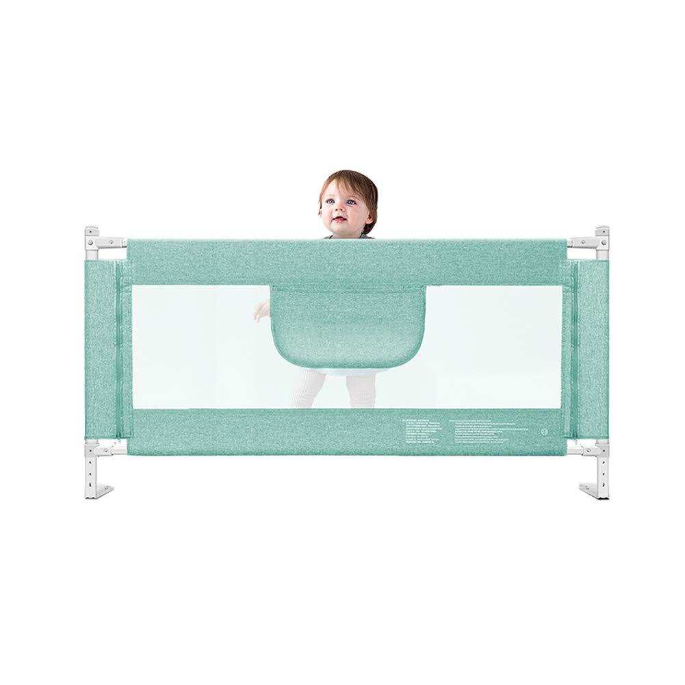 JY 幼児のための縦の上昇のベッドの柵の監視、特別に長い子供のベッドの柵8ファイル調節可能な高さ、安全赤ん坊のBedrailsの緑 (サイズ さいず : 220cm) 220cm  B07M86YHGT