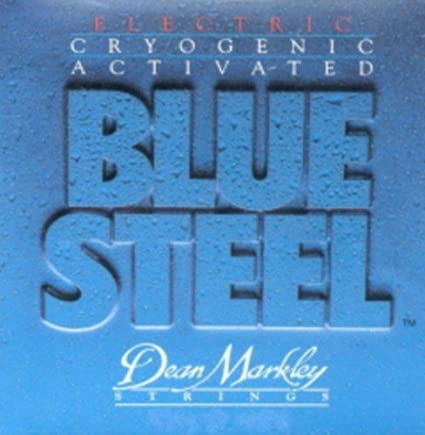 Amazon.com: CUERDAS GUITARRA ELECTRICA - Dean Markley (2556) Blue Steel/Regular (Juego Completo 010/046E): Musical Instruments