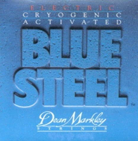 Amazon.com: CUERDAS GUITARRA ELECTRICA - Dean Markley (2554) Blue ...