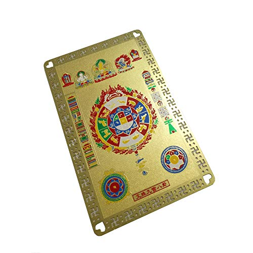 (FengShuiGe Feng Shui Amulet for Carrying/Health Talisman Card)