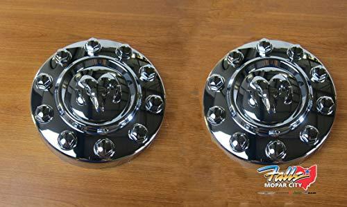 Mopar 2011-2018 Dodge Ram 4500/5500 Front Chrome Center Cap Replacement Set of 2 OEM