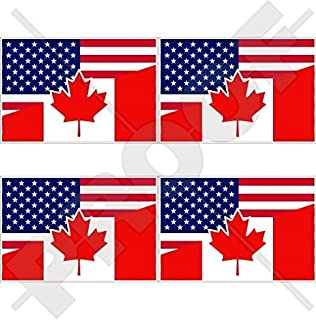 canada us friendship flag 3 x5 combination united states america