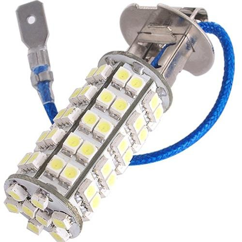 3 opinioni per 2pz AUTO LAMPADE LUCI H3 68 LED SMD CHIPS BIANCO 5500K