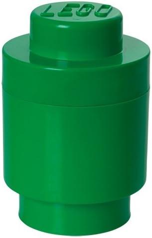 LEGO Round Storage Box 1, Dark Green