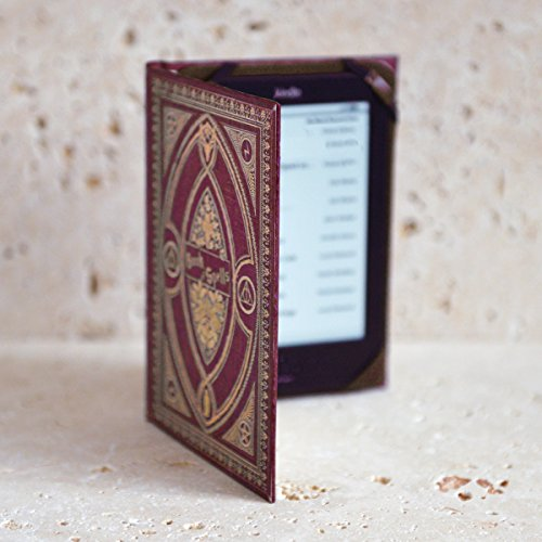 Harry Potter themed Book of Spells Kindle Cover (Gryffindor Red)