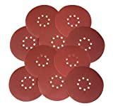 WEN 6369SP80 Drywall Sander 80-Grit Hook and Loop 9'' Sandpaper (10 Pack)