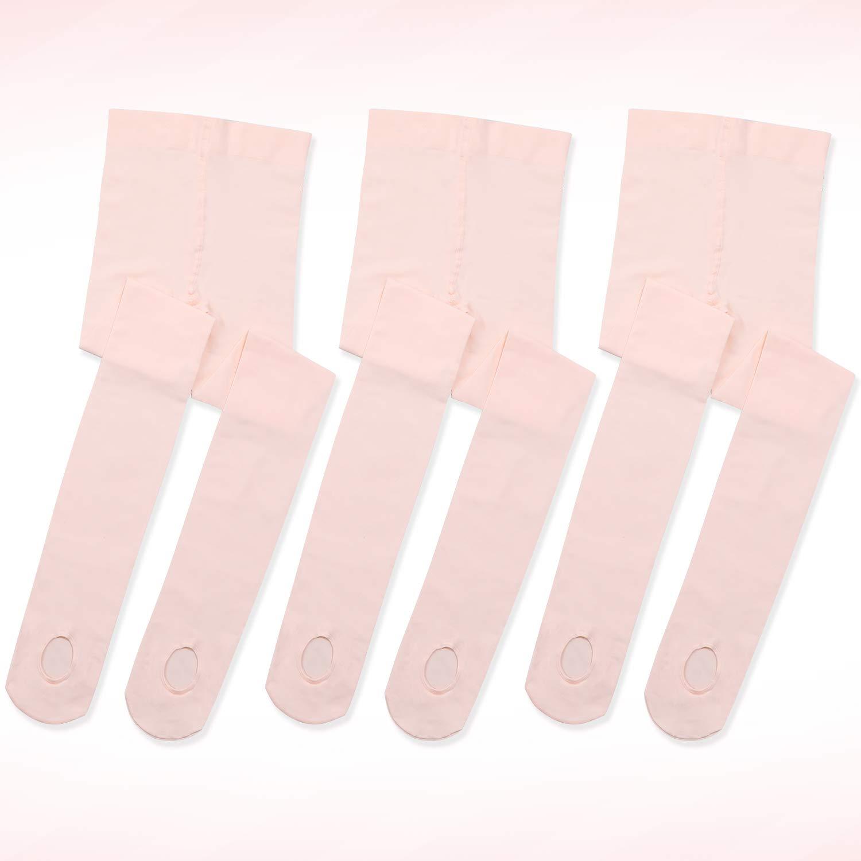 Ultra Soft Convertible Pink Dance Tights Toddler/Girls/Women ...