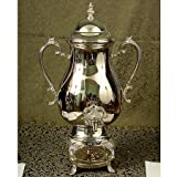 50 CUP SILVER PLATED COFFEE URN - coffee urn