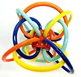 Manhattan Toy Winkel Rattle and Sensory Teether Activity Toy - 316570