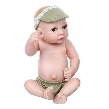 YIHANGG Reborn Muñecos Bebé Silicona Vinilo Silicona 10 Pulgadas 26 ...