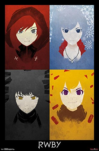 Trends International Rwby Quad Wall Poster