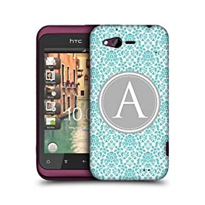 Letter A Case Design Protective Snap-on Back Case Cover For Htc Rhyme