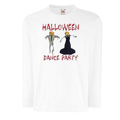 a58809f226f81 lepni.me T-Shirt pour Enfants avec des Manches Longues Tenues Cool  Halloween Danse