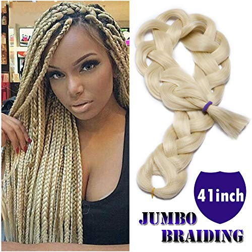 Braiding Crochet Extensions Resistance Synthetic