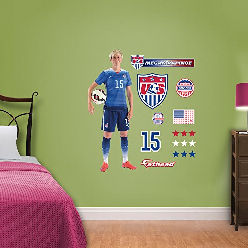 World Cup Soccer United States Megan Rapinoe Wall Decal
