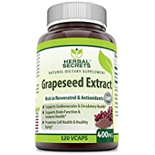 Herbal Secrets Grapeseed Extract 400mg 120 Capsules