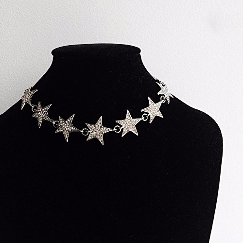 fashion-jewelry-misasha-rhinestone-silver-tone-star-encrusted-choker-with-crystal