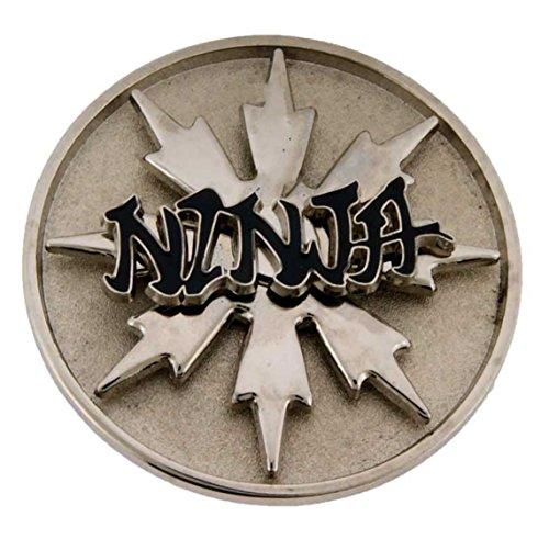 Ninja Spinner Belt Buckle Cowboy Cowgirl Rodeo Western Youth Metal Fashion