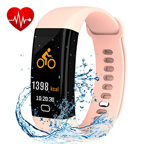Fitness Tracker, Smart Watch with Color Screen, Activity Tracker With Heart Rate...