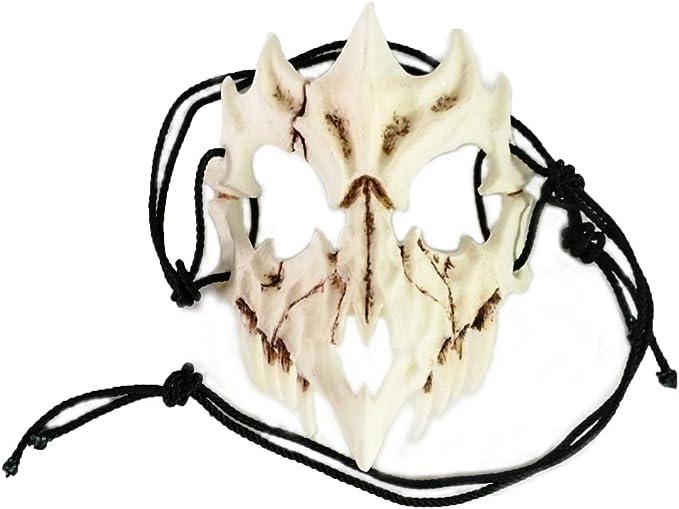 Japanese Gods Style Deluxe Resin Ninja Mask Prom Performance Art Mask