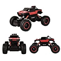 TTLIFE Rock Crawler RC Car - 4x4 Remote Control Car - 1/14 Rock Master Rock Crawler with 2.4Ghz Controller (red)